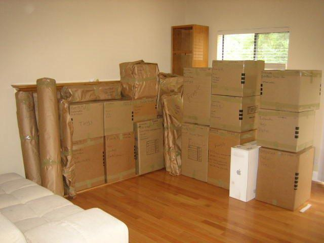 Packing and transporting your things is just one of many aspects involved in a move. Photo: Move Pros (2013)