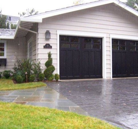 The Windows In This Madden 1000B Garage Door Were Modified To Match This  Orinda Home.