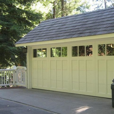 A Madden 1000C Steel Collection Garage Door In Marin County