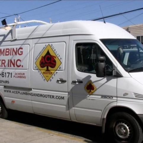 One Of Ace Plumbing And Rooter S Stocked Service Vehicles