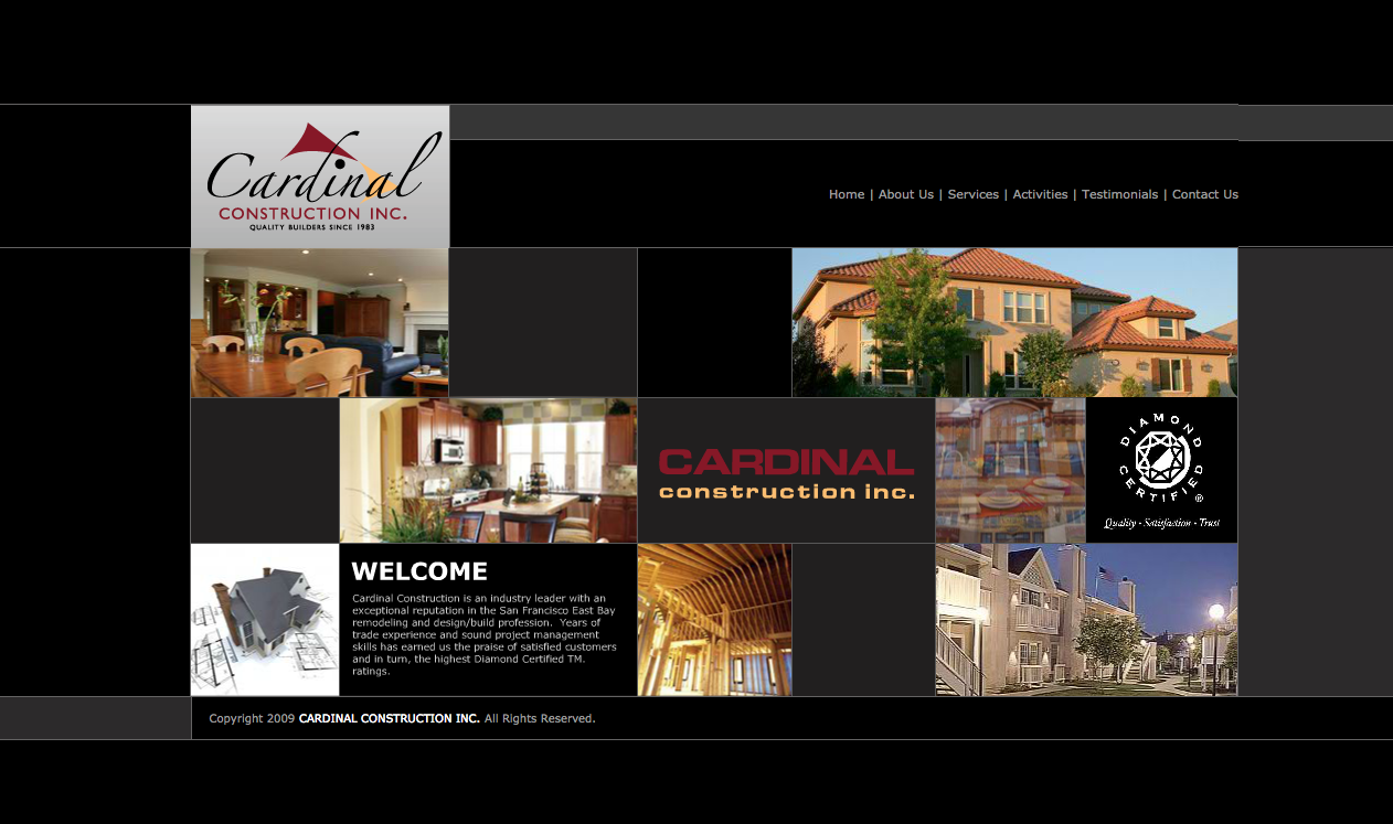 Cardinal Construction Inc Diamond Certified