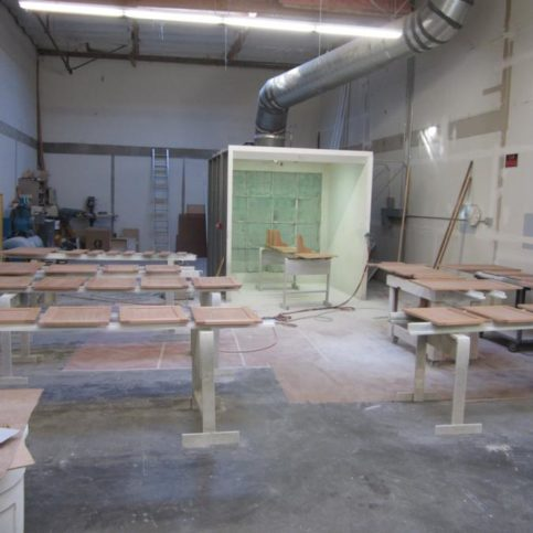 Century Cabinets Onsite Spray Booth
