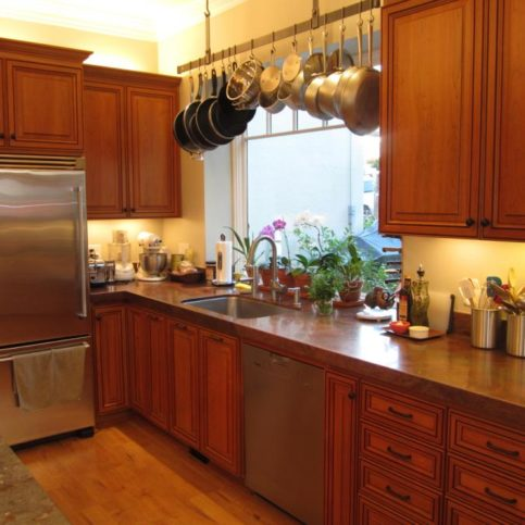 A Recent Kitchen Cabinet Project With Raised Panel Doors And Drawers