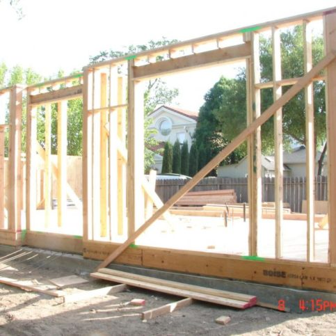 Penny Pinching Construction Remodeling Handled The Framing On This New Project In Oakley