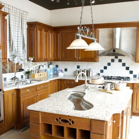 Ricu0027s Kitchen U0026 Bath Showroom. The Company Also Provides Green Cabinetry  And Countertop Options.