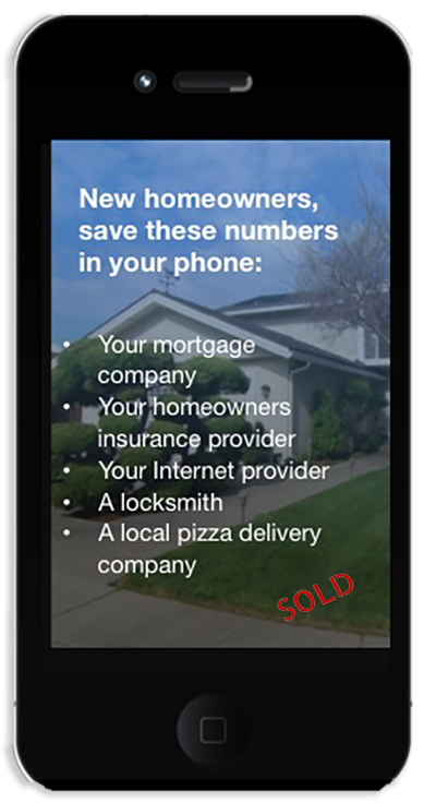 phone numbers for new homeowners