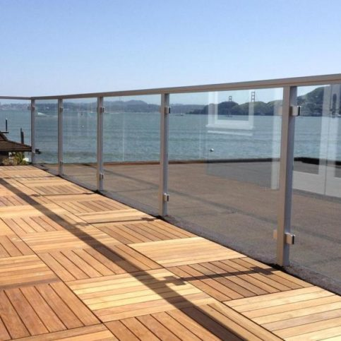 California Shower Door Corporation Recently Completed This Patio Rail  Project.