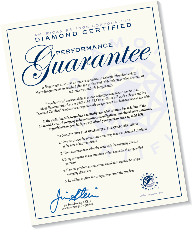Problem Resolution and Mediation | Diamond Certified
