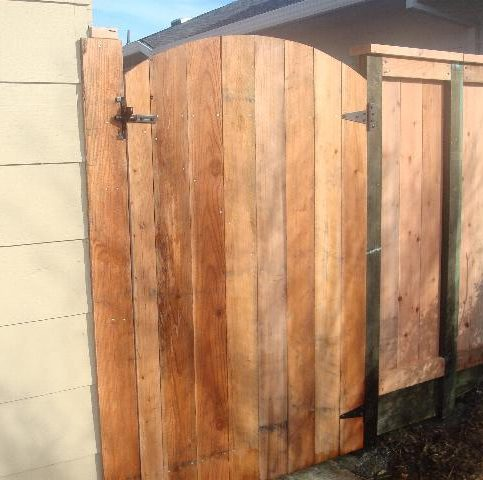 redwood fence boards