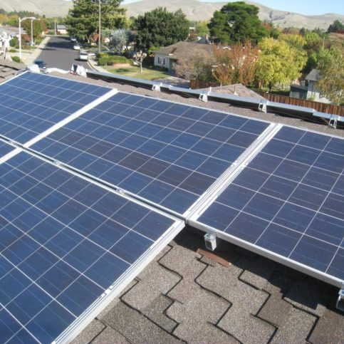 A Rooftop Solar System Installation In Lafayette