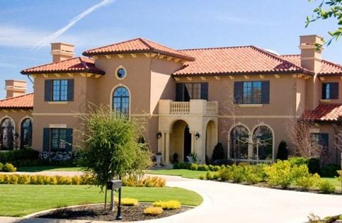 Marco Roofing Installed Clay Tile On This Custom Home.