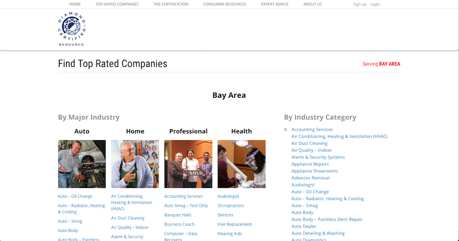 find top rated companies