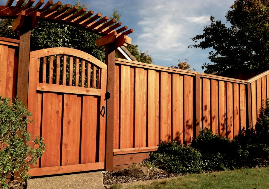 fence and gate for home