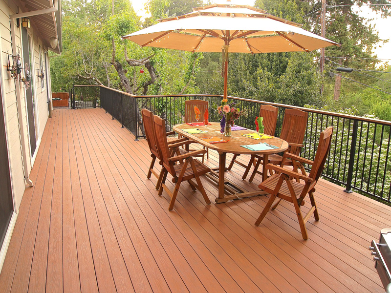 composite decking example