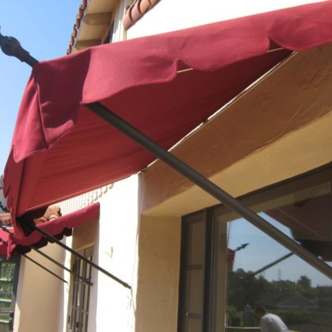Acme Sunshades Enterprise Installed These Spear Head Fixed Awnings In Alameda