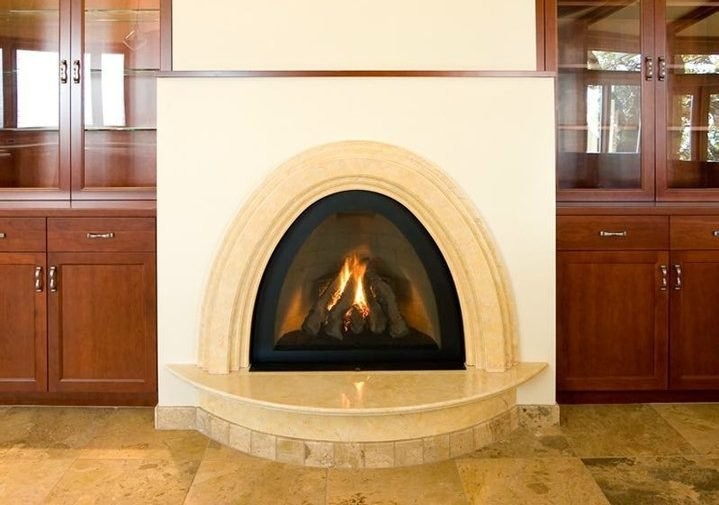 remodeled fireplace harkey construction
