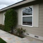 new vinyl siding on Sacramento home