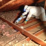 replacing attic insulation in Sacramento home