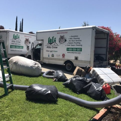 San Mateo County Attic And Crawl Space Cleaning
