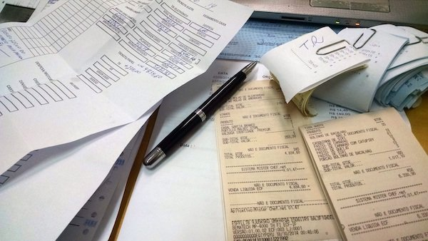 tax filing papers