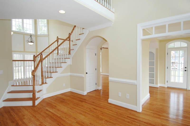 light hardwood flooring in home
