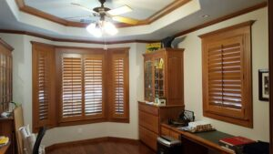 wood shutters interior