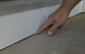 sealing gaps in home exterior