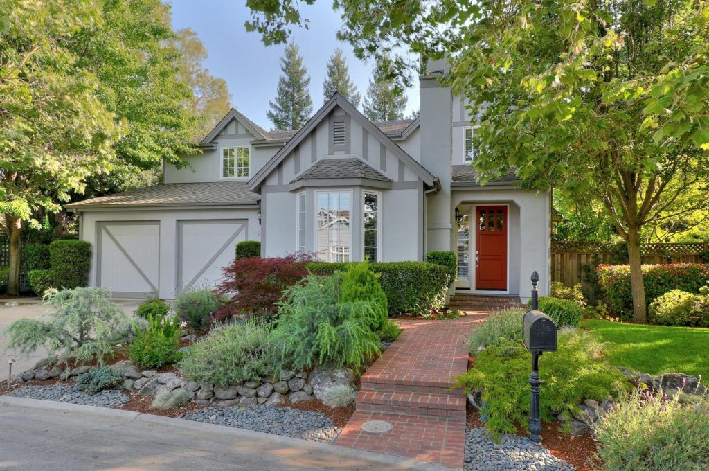 Beautiful tudor style home in Menlo Park sold by Marc