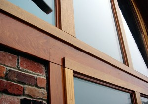 When it comes to choosing window frames, your options include wood, steel, aluminum, fiberglass and more. Photo: Charles Window & Door Company (2015)