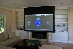 Home automation technology allows homeowners to control various systems from any room in the house. Photo: Avid Home Theater (2016)
