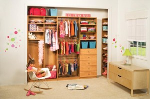 When it comes to keeping your child's room tidy, a little organization can go a long way. Photo: PremierGarage (2014)