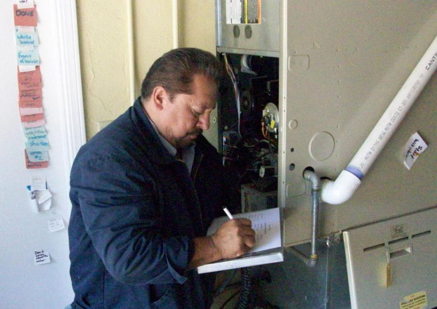 In order to ensure home safety, it's important to hire a licensed technician to perform HVAC system repairs. Photo: Cold Craft, Inc. (2014)