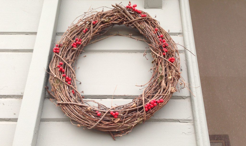 wreath away for the holidays