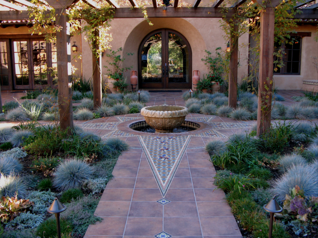 When redesigning your landscape, it's important to consider practical as well as aesthetic aspects. Photo: Jerry Allison Landscaping, Inc.