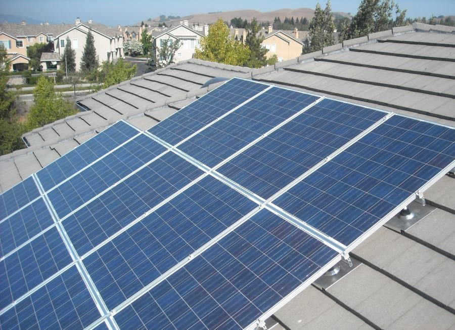 While solar power offers financial benefits like utility rebates and tax incentives, the single greatest savings to be had is on your monthly power bill. Photo: Sierra Roofing & Solar (2014)