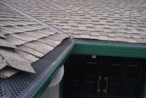 gutter guards shingle roof